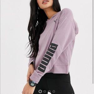 PUMA lavender hoodie